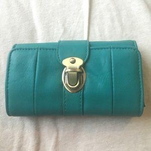 Handbags - Very cute turquoise wallet